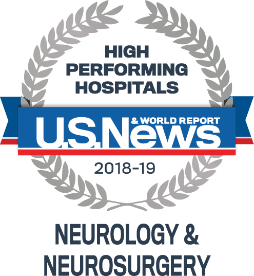US News and World Report High Performing Hospital 2018-19