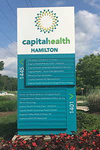 Capital Health - Hamilton sign_exterior