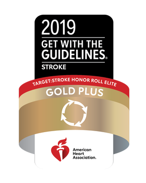 2019 GWTG Stroke Gold Plus Honor Roll Elite Plus